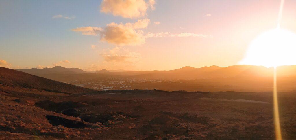 Top View of Lajares